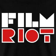 Design ~ Film Riot Men's Black Tee