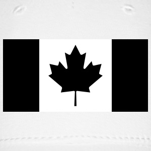 Canadian Flag Subdued fitted hat - Baseball Cap