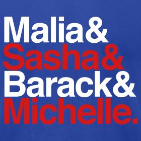 Design ~ Obamas - Patriotic
