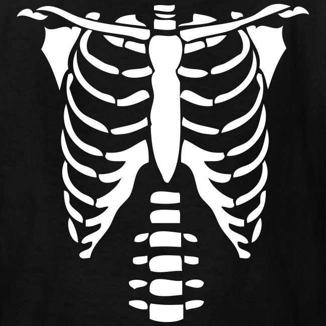 Halloween T Shirt With Baby Skeleton