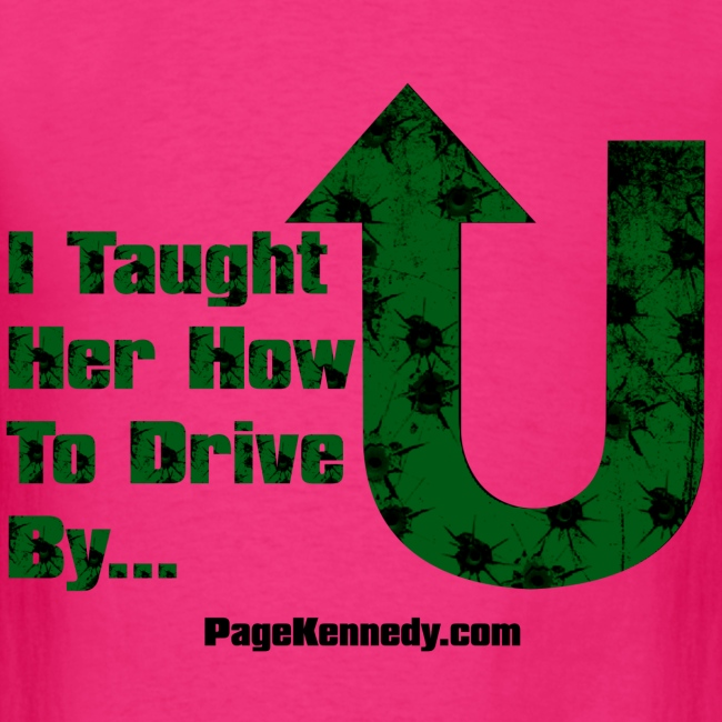 I taught her how to drive by