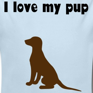 Love a Pup - Long Sleeve Baby Bodysuit
