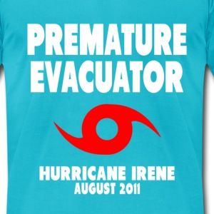 Premature Evacuator T-Shirts - Men's T-Shirt by American Apparel