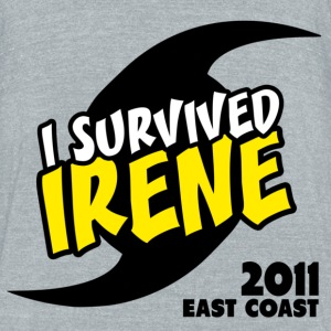 Survived Irene 2011 - Unisex Tri-Blend T-Shirt by American Apparel