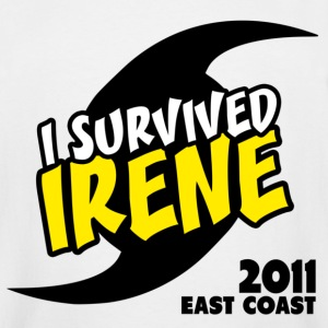 Survived Irene 2011 - Men's Tall T-Shirt
