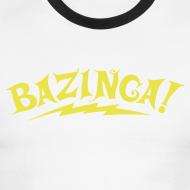 Design ~ BAZINGA Sports T-Shirt