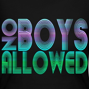 No Boys Allowed - Women's Long Sleeve Jersey T-Shirt