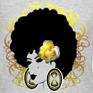 Yellow Flower - Women's Long Sleeve Jersey T-Shirt