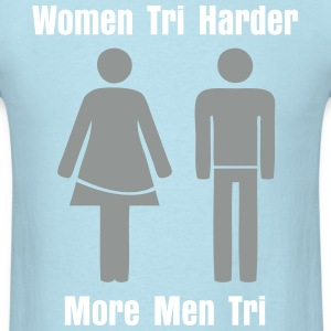 Men Tri Women Tri - Men's T-Shirt