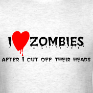 Design ~ I love zombies.... after I cut off their heads..