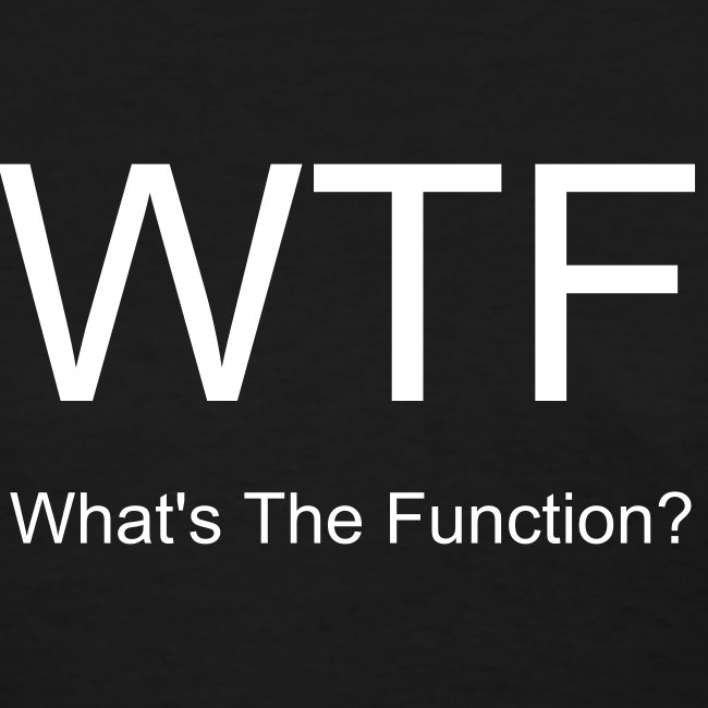 What's the Function -Ladies