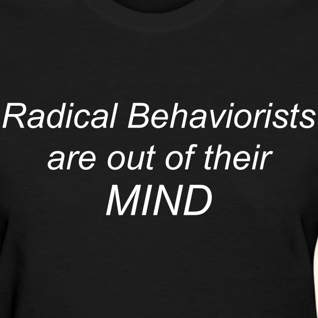 Radical Behaviorists- Ladies