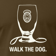 Design ~ Newcastle T-Shirt: Walk the Dog