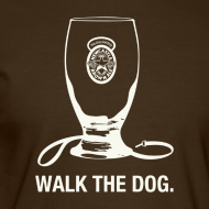 Design ~ Newcastle Long Sleeve: Walk the Dog