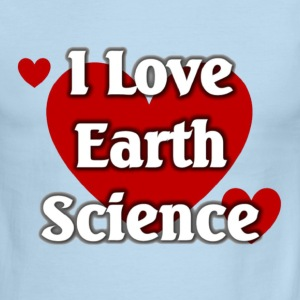 I love Earth Science - Men's Ringer T-Shirt