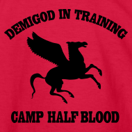 Design ~ CAMP Pegasus Half-Blood Long Sleeve Kids T-Shirt