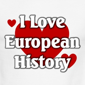 I love European History - Men's Ringer T-Shirt