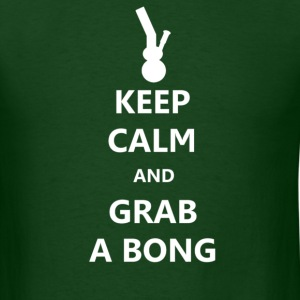 Keep Calm And Grab A Bong - Men's T-Shirt