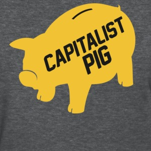 Capitalist Piggy Bank - Women's T-Shirt