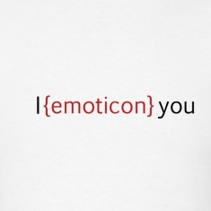 I emoticon you T-Shirts