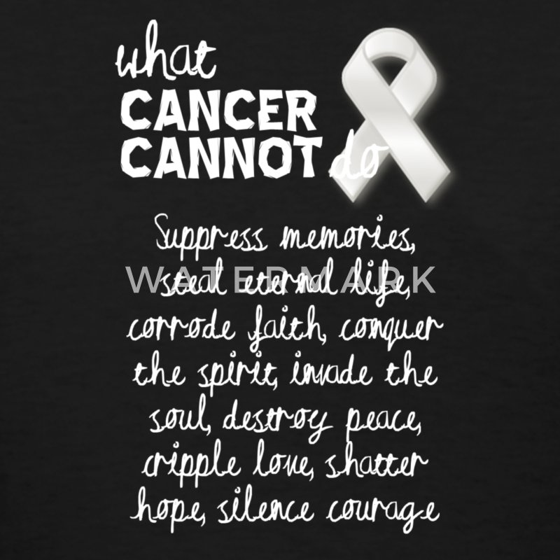 What cancer cannot do - melanoma - Women's T-Shirt