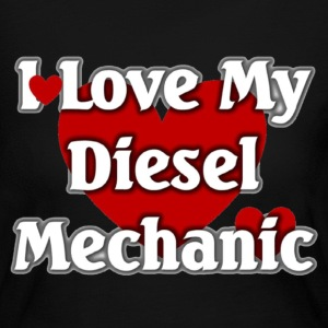 I love my Diesel  mechanic - Women's Long Sleeve Jersey T-Shirt