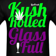 Design ~ Kush Rolled Glass Full