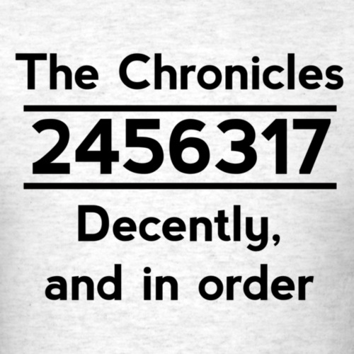 2456317 - The Chronicles in Order (Light Shirts)