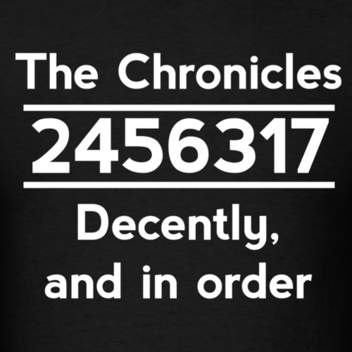 2456317 - The Chronicles in Order (Dark Shirts)