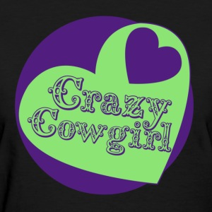 Crazy Cowgirl - Women's T-Shirt