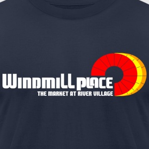 Windmill Place T-Shirts - Men's T-Shirt by American Apparel