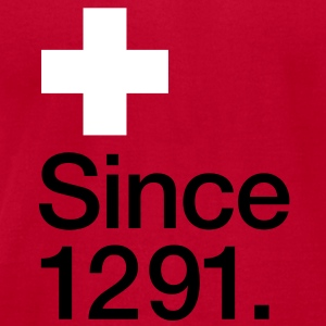 Switzerland, since 1291 - Men's T-Shirt by American Apparel