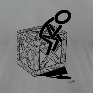 think outside of the box T-Shirts - Men's T-Shirt by American Apparel