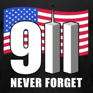 911 Never Forget! T-Shirts - Men's T-Shirt by American Apparel