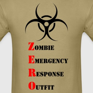 Zombie Emergency Response Outfit - Men's T-Shirt