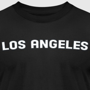 Los Angeles T-Shirts - Men's T-Shirt by American Apparel