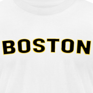 Boston T-Shirts - Men's T-Shirt by American Apparel