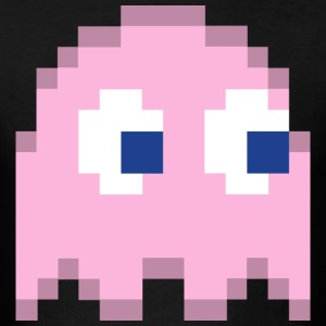 Pinky Pacman Ghost Easy Costume 1 of 4 T-Shirts - Men's T-Shirt