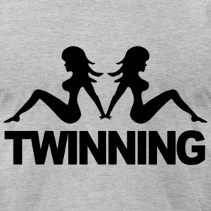 Twinning Jersey Shore T-Shirts - stayflyclothing.com - Men's T-Shirt by American Apparel