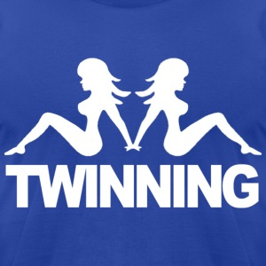 Twinning Jersey Shore T-Shirts- stayflyclothing.com - Men's T-Shirt by American Apparel