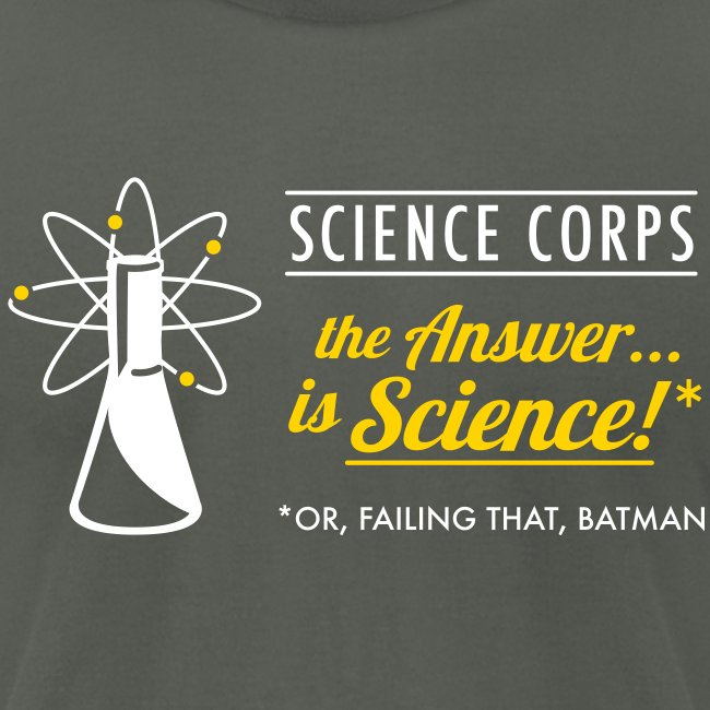 Science Corps - The Answer (Asphalt Men's AA)