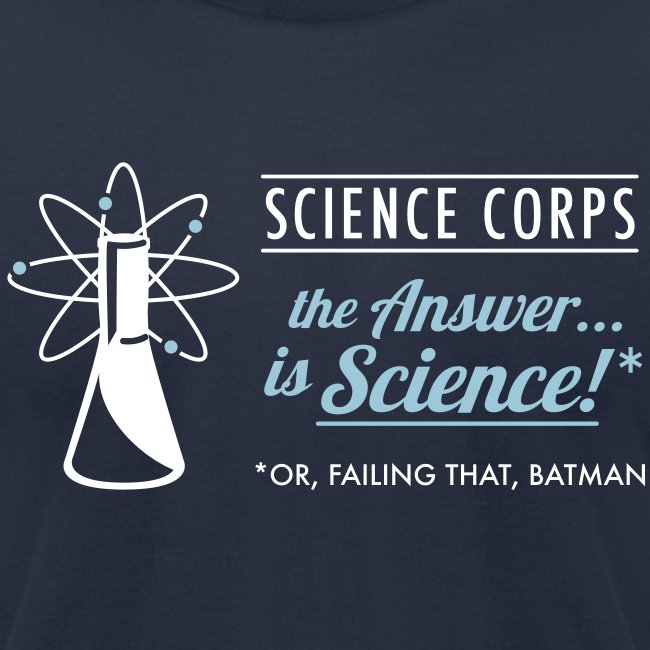 Science Corps - The Answer (Navy Men's AA)