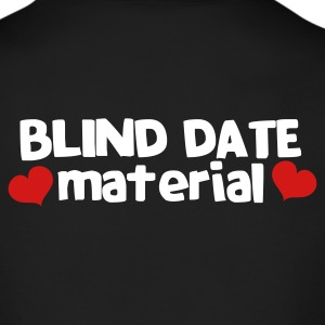 blind date material with hearts Long Sleeve Shirts - Men's Long Sleeve T-Shirt by Next Level