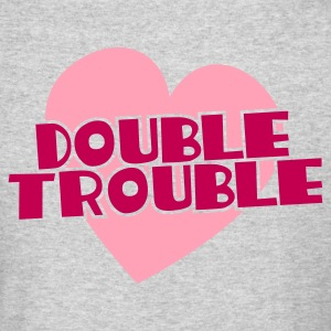 double trouble Long Sleeve Shirts - Men's Long Sleeve T-Shirt by Next Level