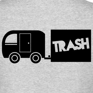 trailer trash towing cargo  Long Sleeve Shirts - Men's Long Sleeve T-Shirt by Next Level