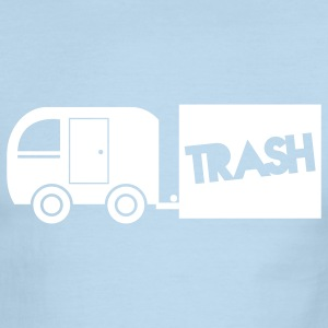 trailer trash towing cargo  T-Shirts - Men's Ringer T-Shirt
