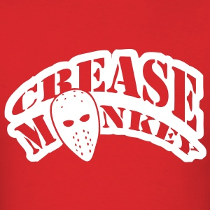 Crease Monkey hockey design T-Shirts - Men's T-Shirt