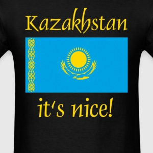kazakhstan it's nice - Men's T-Shirt