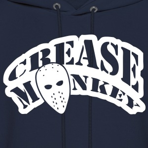Crease Monkey hockey design Hoodies - Men's Hoodie