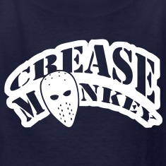 Crease Monkey hockey design Kids' Shirts